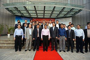 Phó Tổng thống Cộng hòa Liên bang Myanmar thăm dự án Splendora