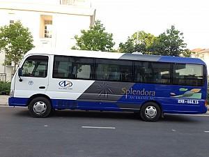 Splendora đưa vào vận hành tuyến xe bus miễn phí cho cư dân