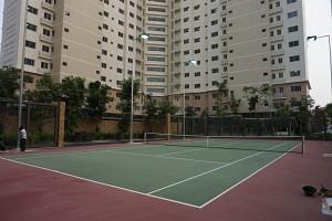 Sân tennis dành cho cư dân